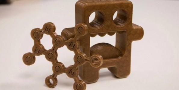 Restos de café para impresiones 3D