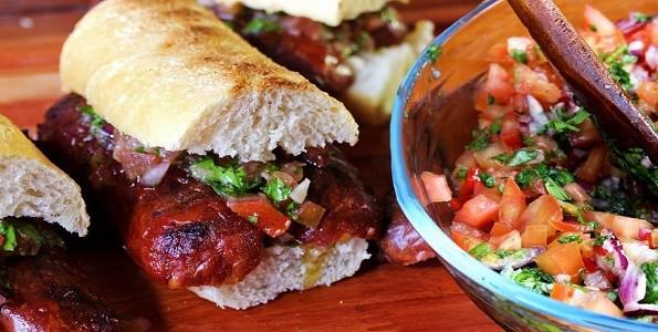 Selección de platos típicos argentinos