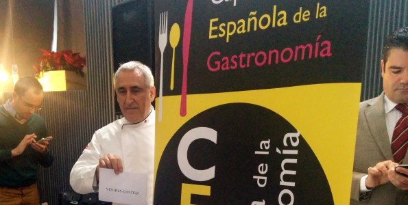 Vitoria, Capital Española de la Gastronomía 2014