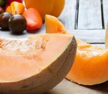 Sorbete de melón