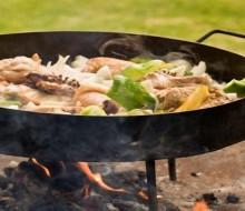 Disco de arado: herramienta autóctona de cocción