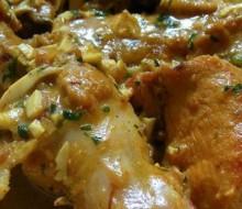 Receta pollo en pepitoria