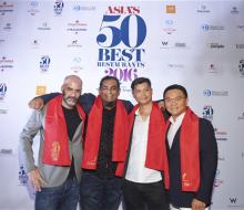 Los 50 mejores restaurantes de Asia