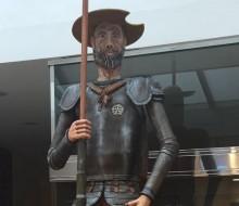 El Quijote más grande y dulce del mundo