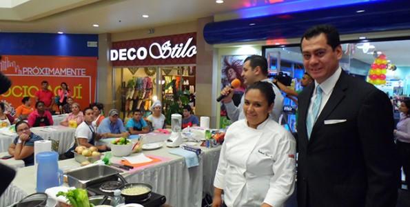 Gastronomía de Perú en Honduras