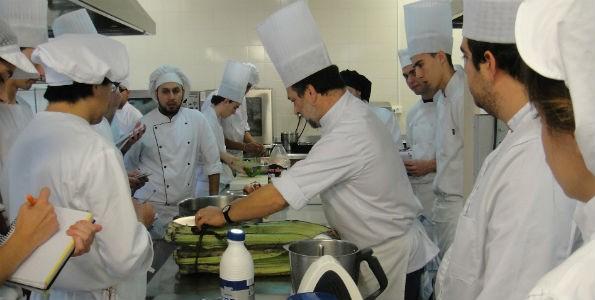 Gastronomía en la universidad