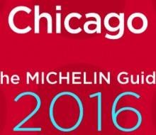La guía Michelin Chicago 2016
