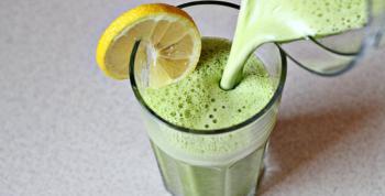 Receta de smoothie verde