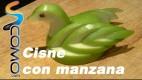 Apple Swan o Cisne de Manzana